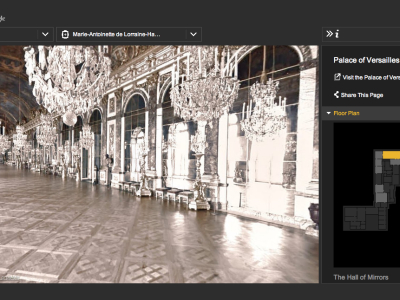 A Visit to the Virtual Versailles