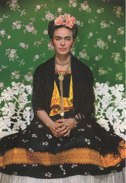Frida Kahlo in all her glory.