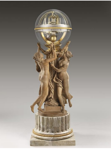 """The Dance of Time, Paris 1788, from the Frick's """"Precision and Splendor"""""""