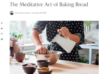Meditation of Baking Bread